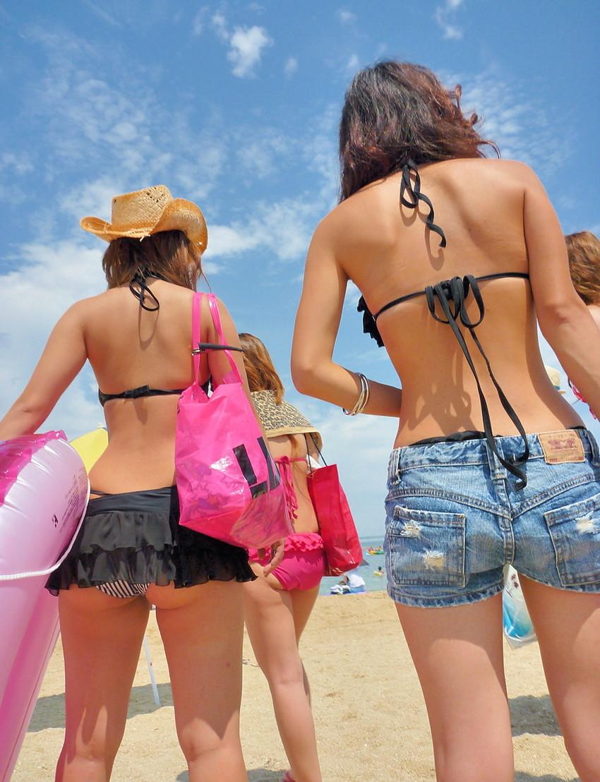 【素人水着エロ画像】素人娘たちの生々しい水着姿にハァハァしてしまうエロ画像ww 53