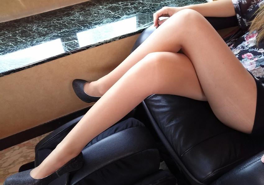 【美脚エロ画像】美しき脚線美!女の子のスラリと伸びた美脚を愛でる美脚エロ画像 31