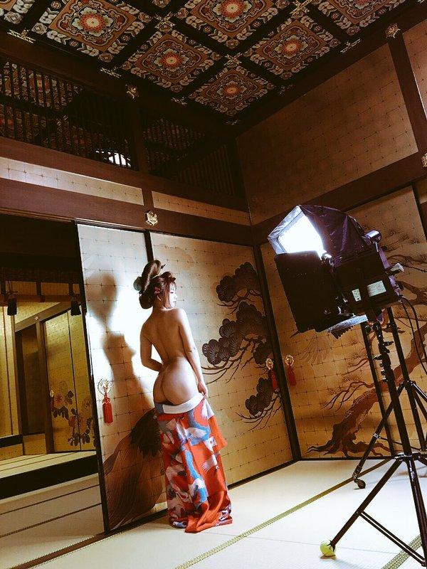 【和服エロ画像】日本人の心といえば和服!?和服姿の女の子のエロスがたまらん! 04