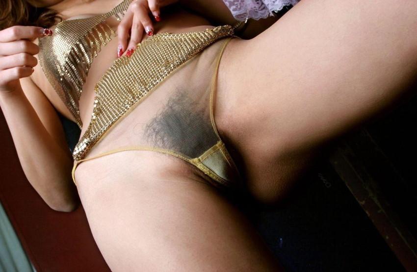 【透け下着エロ画像】セクシーすぎて勃起不可避!あっちもこっちもスケスケなランジェリー! 46