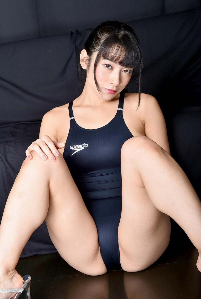 【競泳水着エロ画像】競泳用と侮る事無かれ!ここまでエロい競泳水着www 11