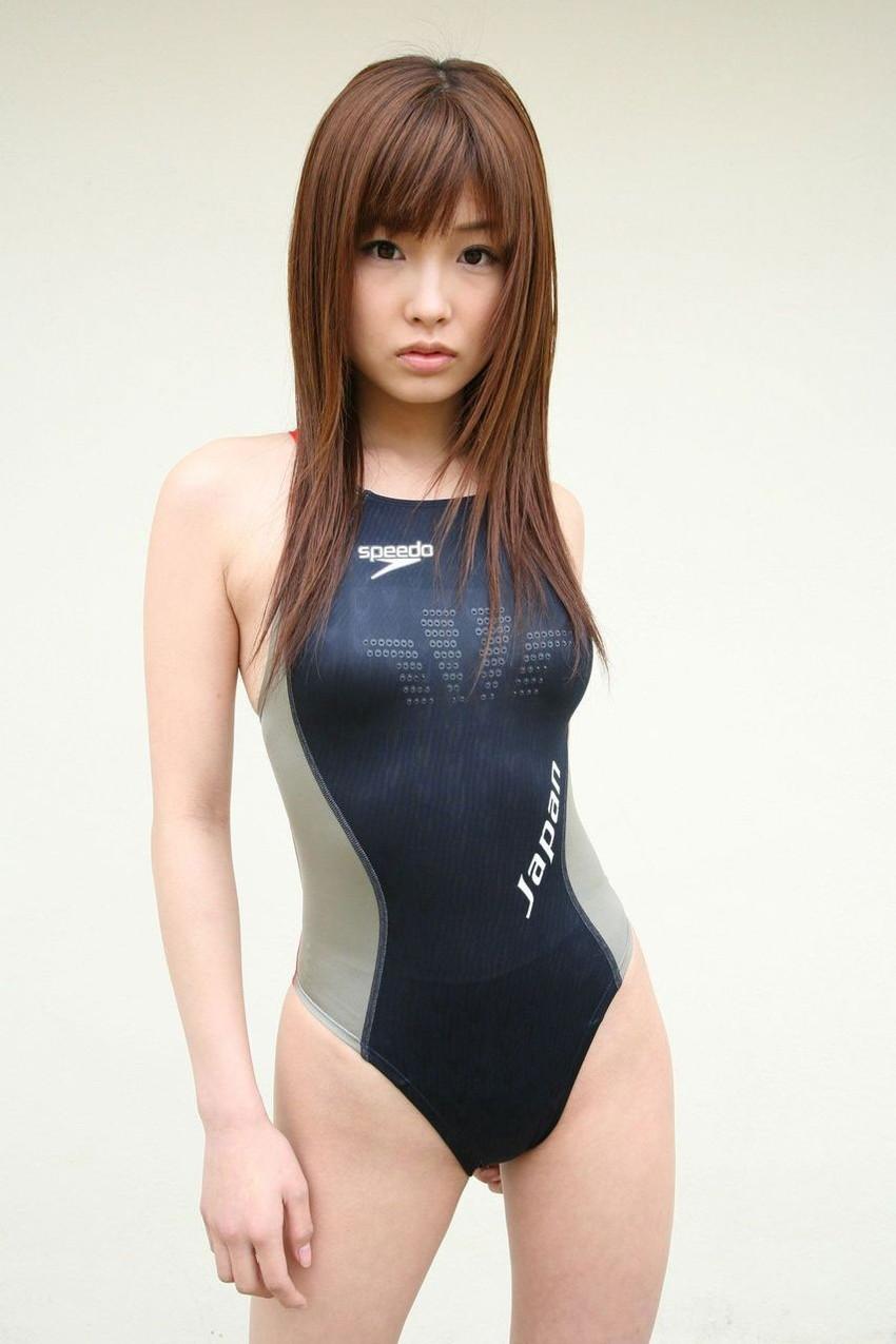 【競泳水着エロ画像】競泳用と侮る事無かれ!ここまでエロい競泳水着www 50