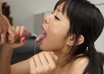 【口内発射エロ画像】口内に精子ぶちまけられてご満悦のドスケベ女たちの満足顔ww