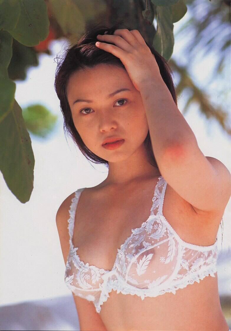 【シースルーランジェリーエロ画像】おっぱいもアソコも透け透けのキケンなランジェリーw 12
