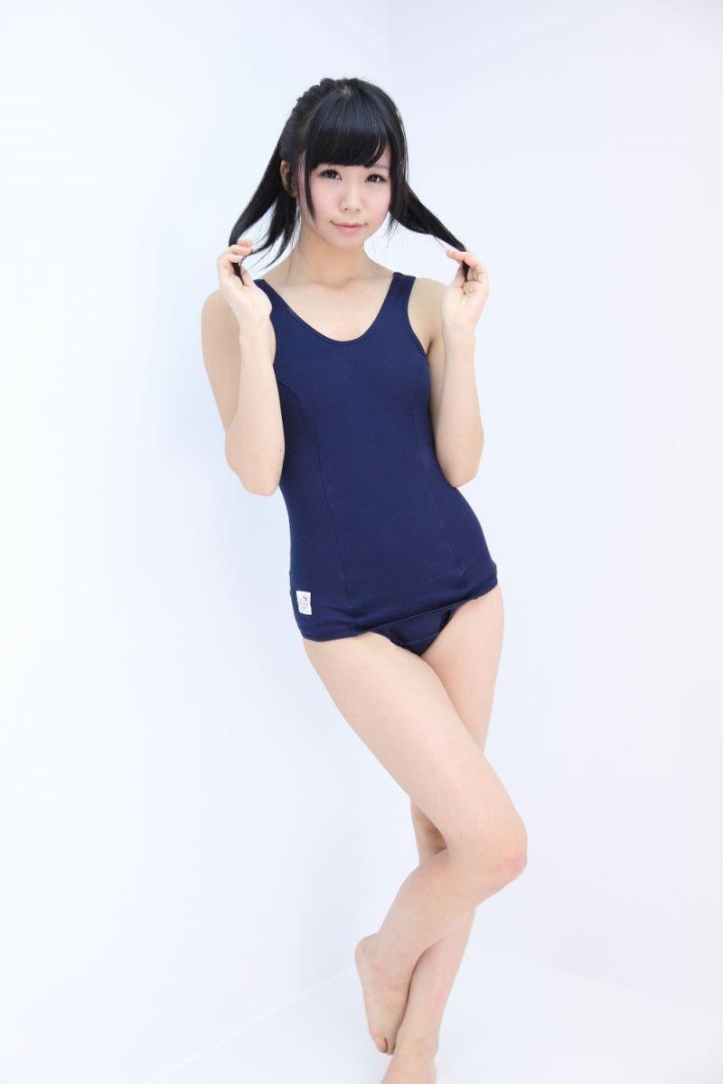【スク水エロ画像】学生時代の水泳の授業で女子の水着が気になって仕方なかったやつ必見ww 14