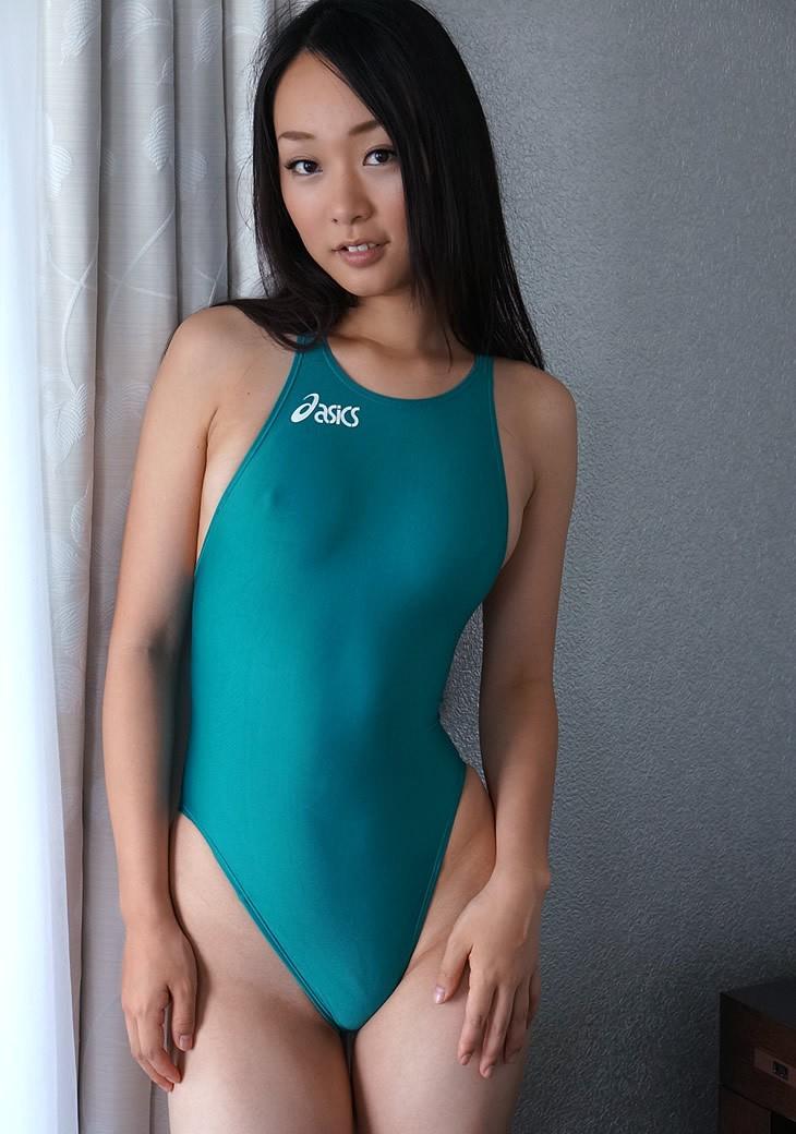 【競泳水着エロ画像】競泳水着って思った以上にエロくて驚いた!競泳水着特集! 32
