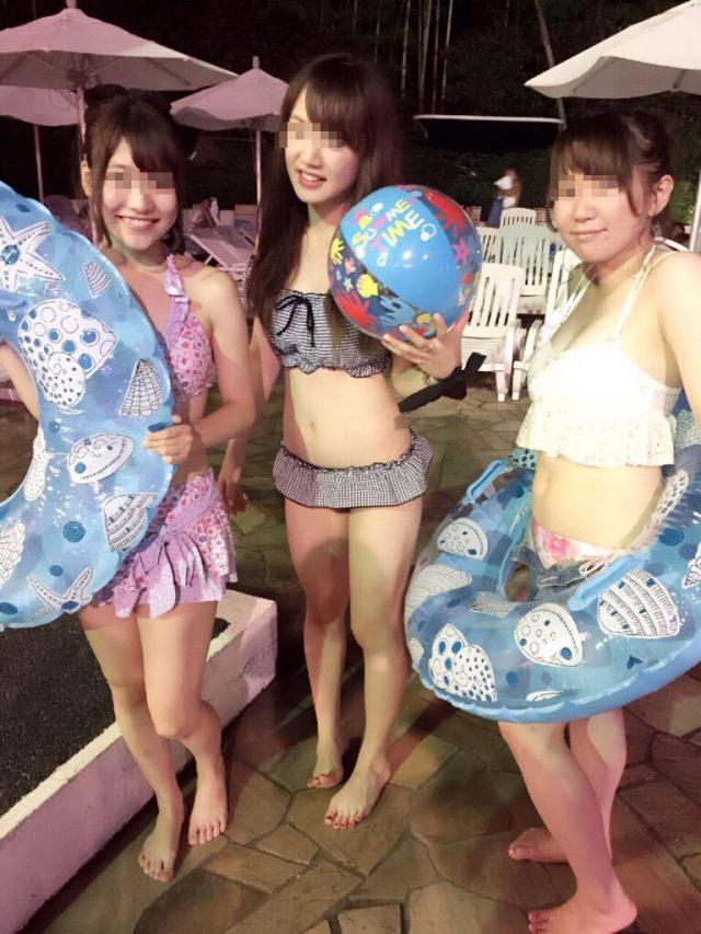 【素人水着エロ画像】うっとおしい梅雨が終わればいよいよ素人娘の水着の季節! 35