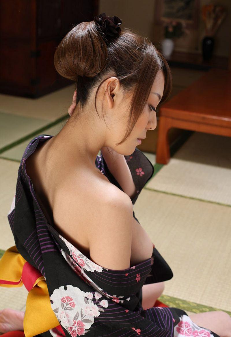 【和服エロ画像】忘れかけた日本の心を和服のエロスを見て思い出そうww 27