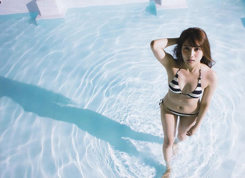 【ビキニエロ画像】下着とどこが違うの?ビキニ水着ってまるっきり下着じゃね? 38