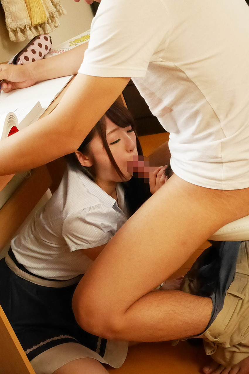 【フェラチオエロ画像】女の子から奉仕される事の快感、フェラチオ画像 26