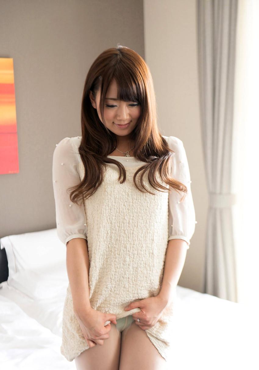 【セルフパンチラエロ画像】女の子のスカートの中身が最高にエロかったwww 37