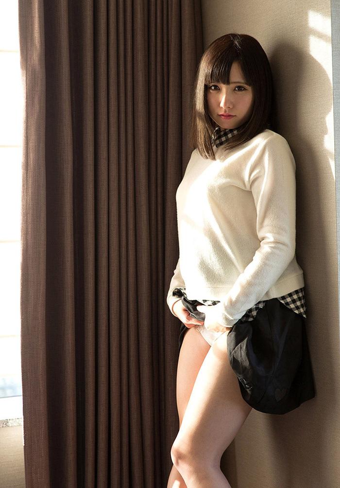 【セルフパンチラエロ画像】女の子のスカートの中身が最高にエロかったwww 49