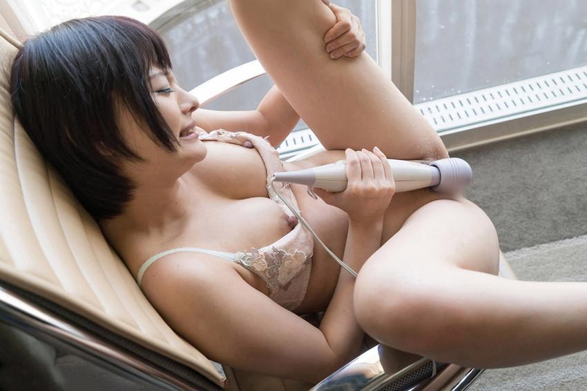 【電マオナニーエロ画像】電マの刺激にうっとり電マでオナニーwwwwww 14