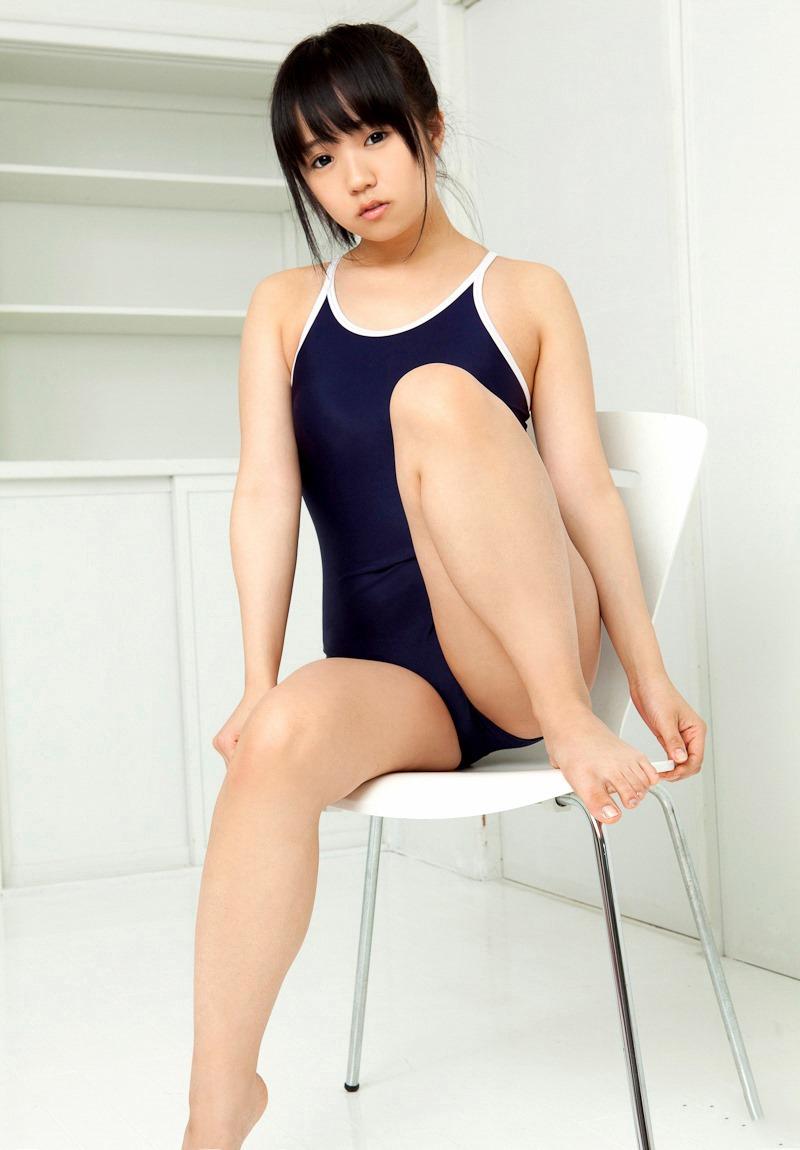 【スク水エロ画像】暑い夏はスクール水着の女の子でも見て楽しもうぜwwww 16