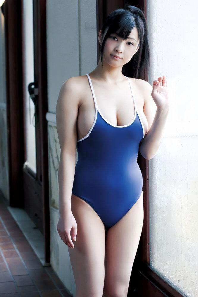 【スク水エロ画像】暑い夏はスクール水着の女の子でも見て楽しもうぜwwww 45