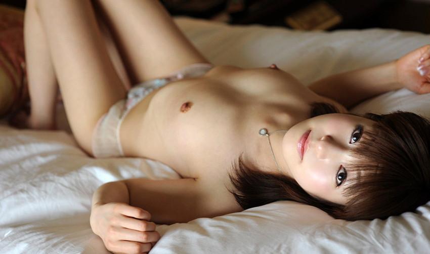 【貧乳エロ画像】貧乳なんてバカにするなよ!?可愛いちっぱいが最高! 46