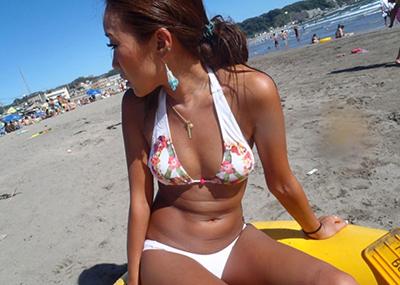 【素人水着エロ画像】夏といえば海!海といったら素人娘たちの水着だよなwwwww