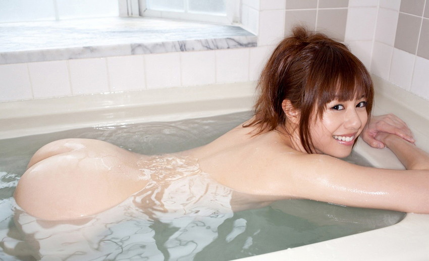 【入浴エロ画像】入浴中の女の子はオールヌード!全裸って素晴らしいwww 42