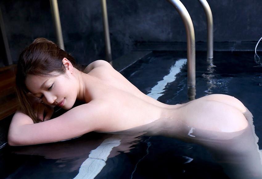【入浴エロ画像】入浴中の女の子はオールヌード!全裸って素晴らしいwww 55