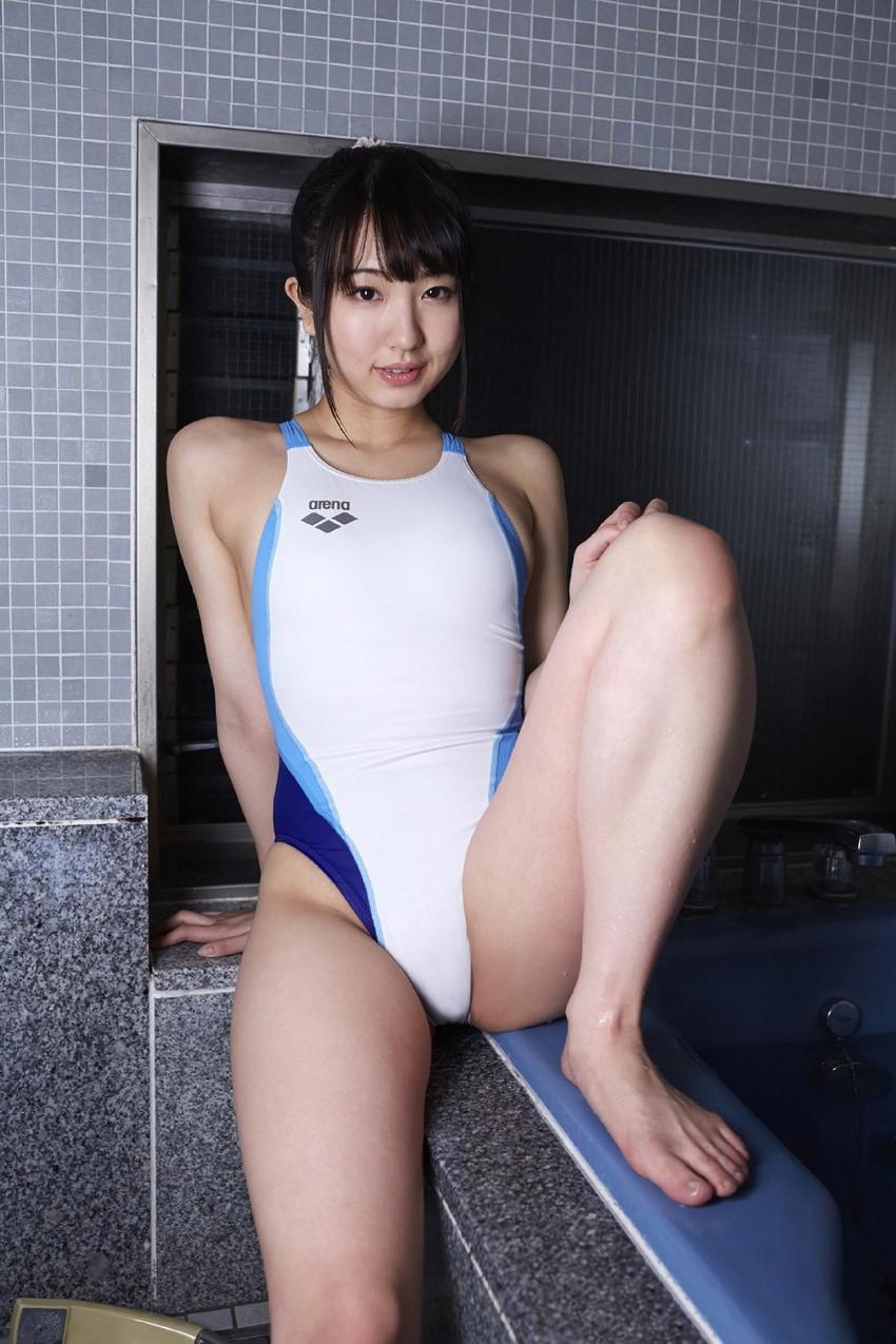 【競泳水着エロ画像】これはヘタなビキニよりもエロいのではっていう競泳水着! 02