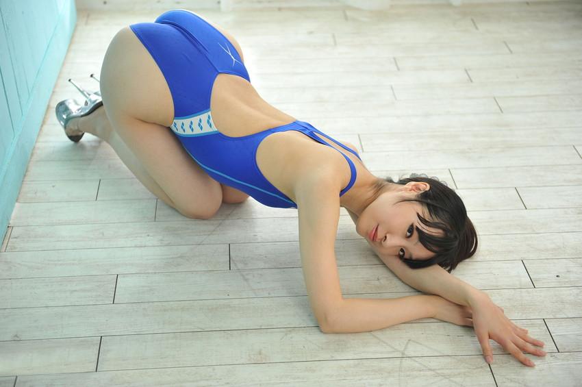 【競泳水着エロ画像】これはヘタなビキニよりもエロいのではっていう競泳水着! 30