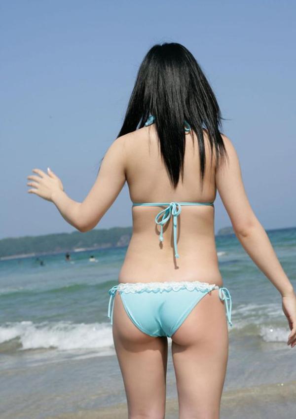 【素人水着エロ画像】素人娘たちによる生々しい水着姿のエロ画像集めたった! 04