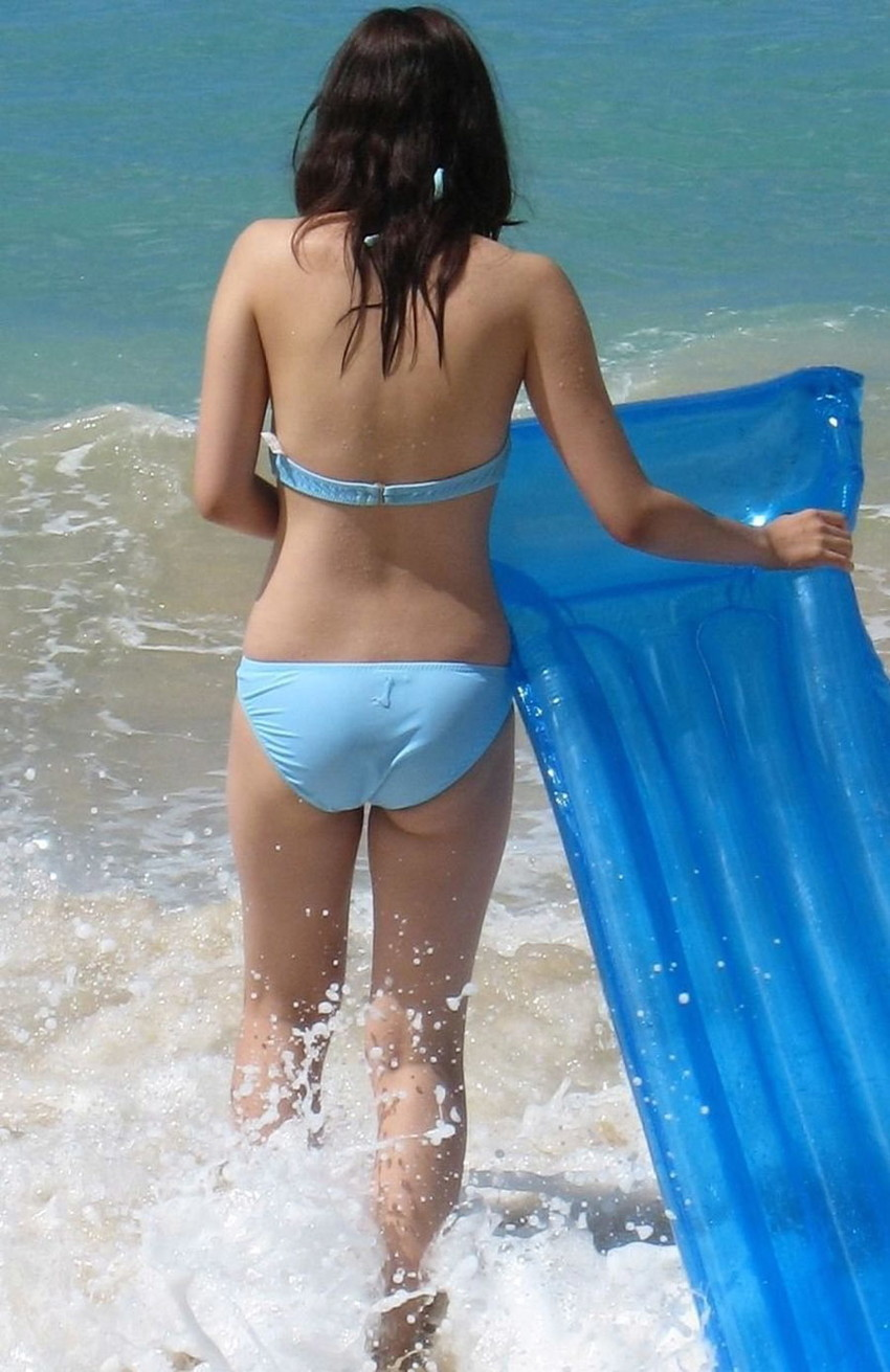 【素人水着エロ画像】素人娘たちによる生々しい水着姿のエロ画像集めたった! 29