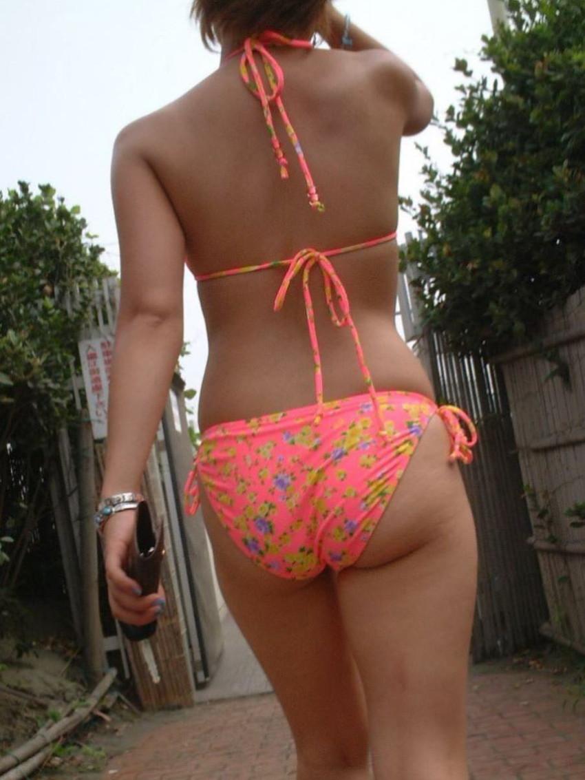 【素人水着エロ画像】素人娘たちによる生々しい水着姿のエロ画像集めたった! 32