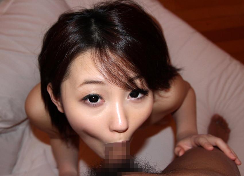 【全裸フェラエロ画像】生まれたままの姿でオチンチンを欲するフェラチオ女子! 47