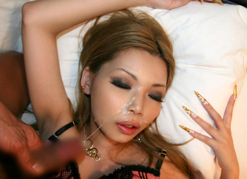【顔射エロ画像】女の子の顔に大量のザーメンぶっかけてやったぜ!www 48