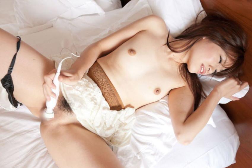 【電マオナニーエロ画像】強すぎる刺激に発狂寸前!電マでオナニーしちゃう女子! 14