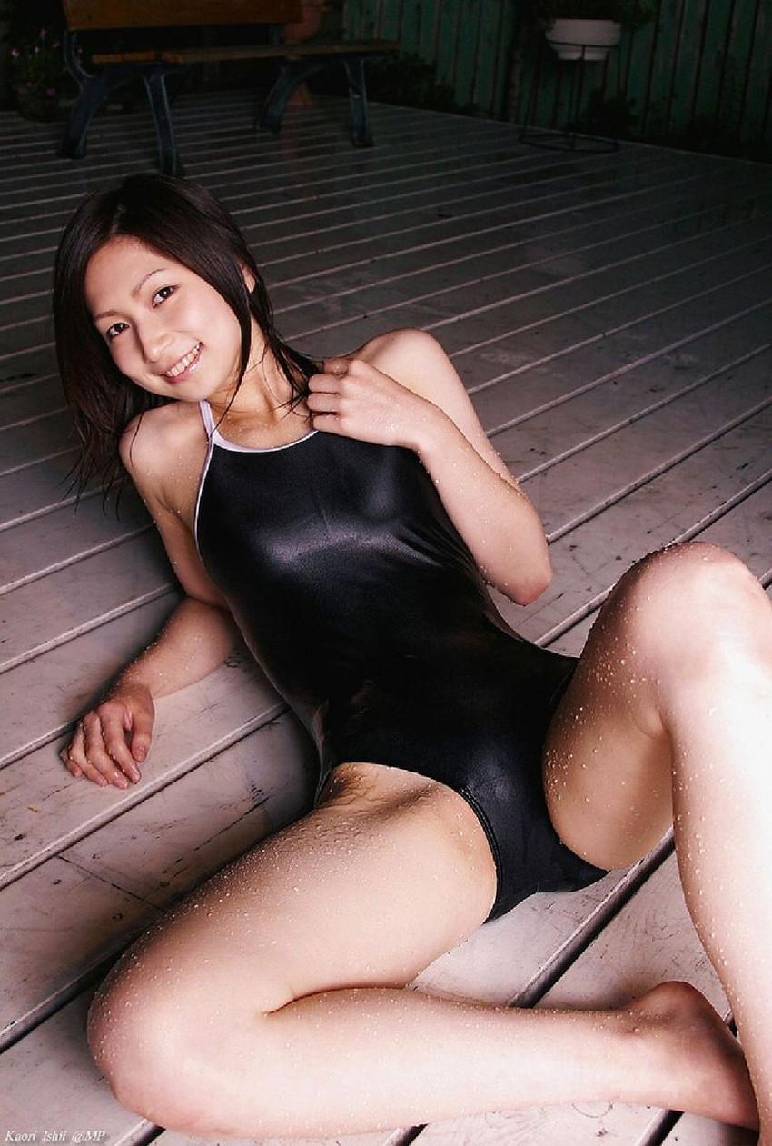 【スク水エロ画像】マニアックだけどファンの多い水着といえばスクール水着だろw 44