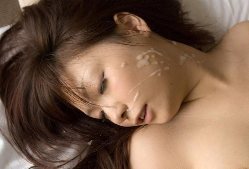 【顔射エロ画像】女の子の顔がザーメンまみれ!こりゃエロいぞwwwwwww 22