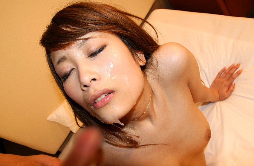 【顔射エロ画像】女の子の顔がザーメンまみれ!こりゃエロいぞwwwwwww 23