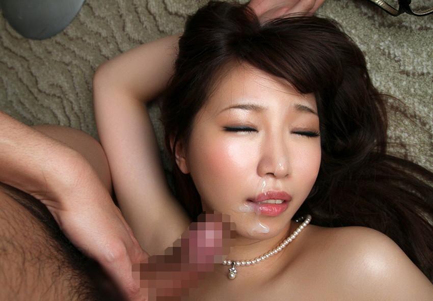 【顔射エロ画像】女の子の顔がザーメンまみれ!こりゃエロいぞwwwwwww 27