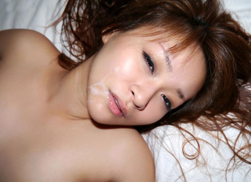 【顔射エロ画像】女の子の顔がザーメンまみれ!こりゃエロいぞwwwwwww 47