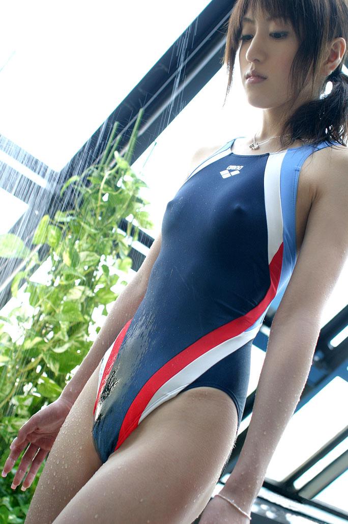 【競泳水着エロ画像】競泳用といっても侮り難いエロさ!競泳水着ってエロッ! 27