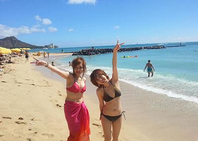 【素人水着エロ画像】台風ばかりのこの時期だけど素人娘の水着みたいやつ寄って来い!