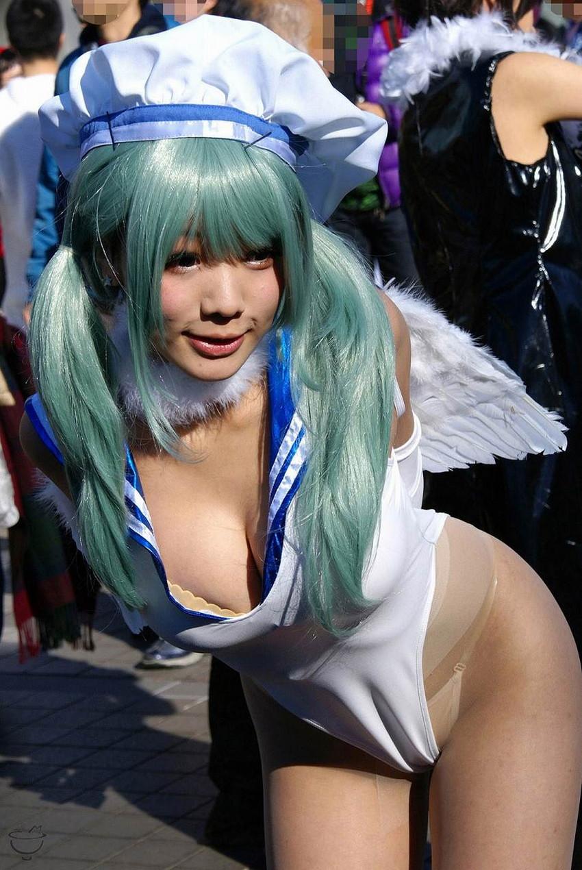 【コミケエロ画像】アニメやゲームの祭典!コミケで見かけるコスプレイヤー! 44