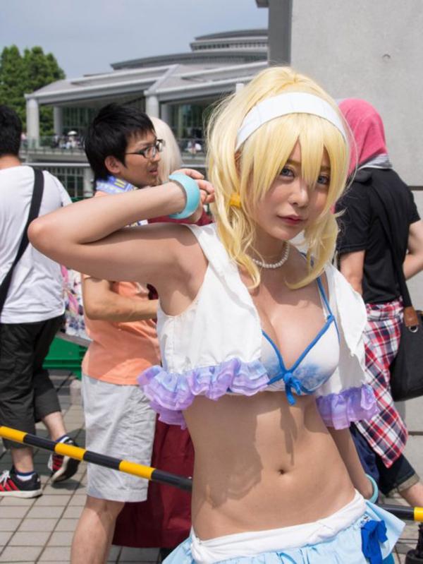 【コミケエロ画像】アニメやゲームの祭典!コミケで見かけるコスプレイヤー! 56