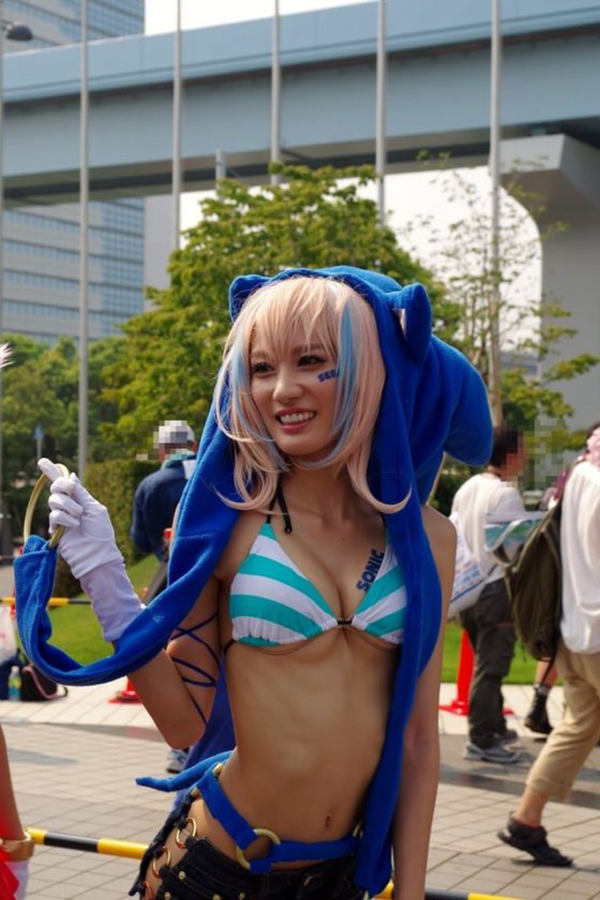 【コミケエロ画像】アニメやゲームの祭典!コミケで見かけるコスプレイヤー! 62