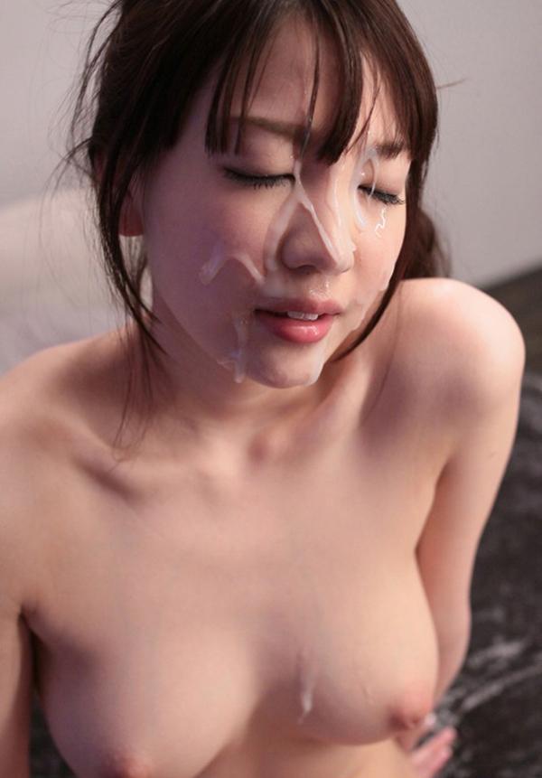 【顔射エロ画像】ちょっとだけマニアックな射精の形がこちら!wwwwwwwww 70