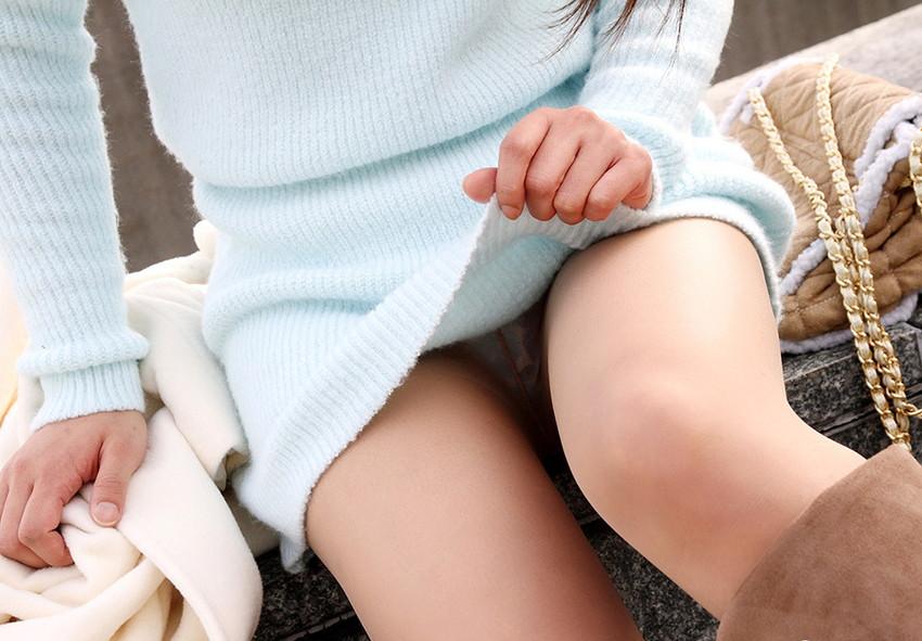 【セルフパンチラエロ画像】羞恥心の強いはずの女の子が自らパンチラ披露! 30