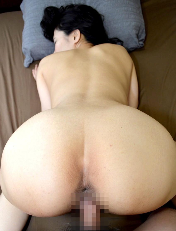 【後背位エロ画像】お尻フェチに嬉しすぎる体位がこちら、後背位でセックス! 53