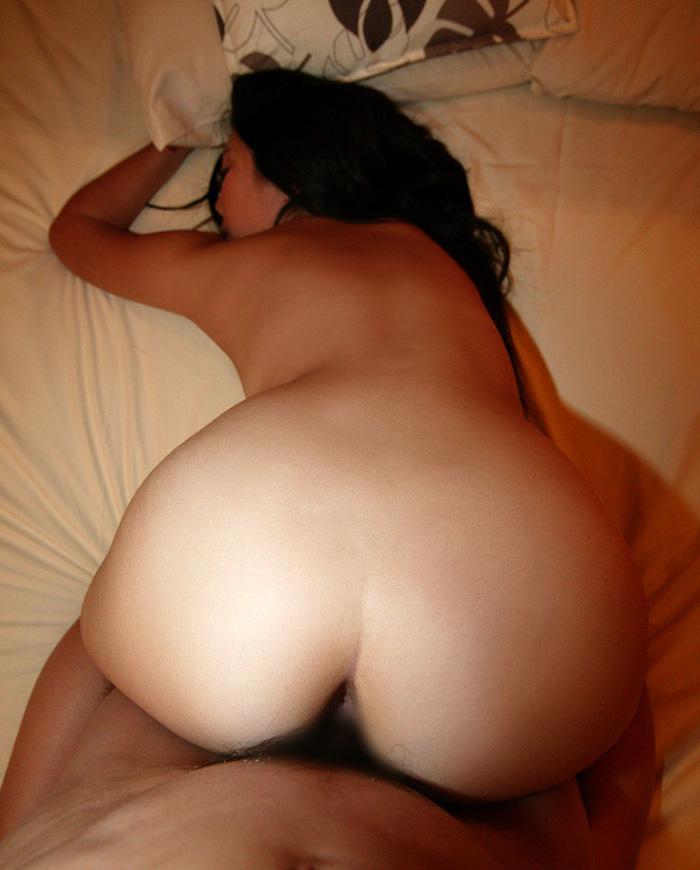 【バックエロ画像】後背位、バックと言われる女の子をお尻側からハメる体位エロすぎw 62