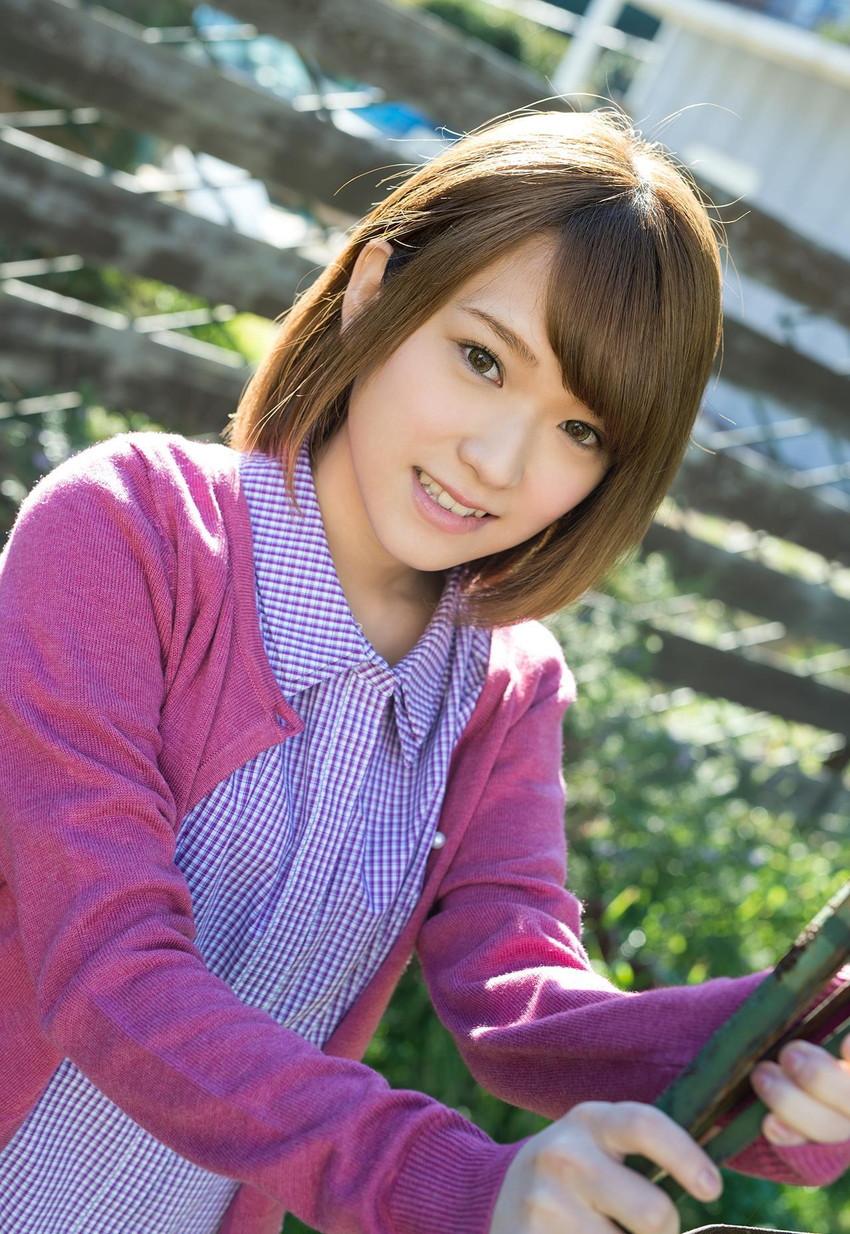 【椎名そらエロ画像】いかにも妹っぽいルックスと素人っぽい雰囲気が堪らない椎名そら! 35