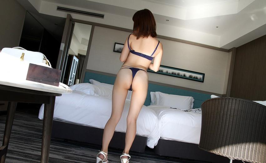 【Tバックエロ画像】美尻の女の子のTバック姿の画像集めたった!wwwwww 49