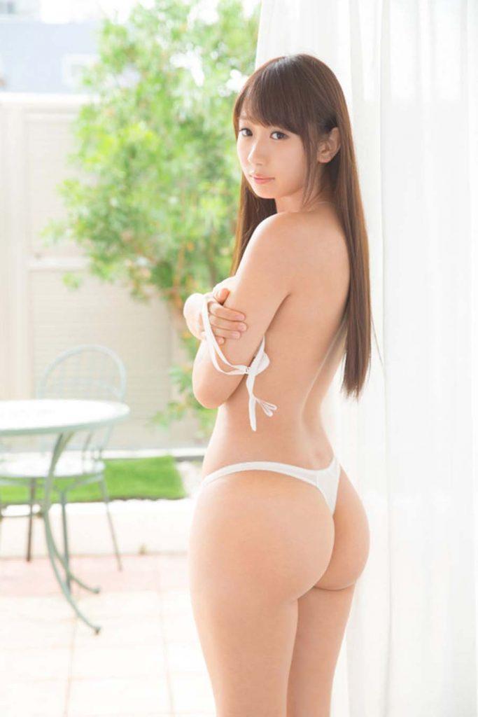 【Tバックエロ画像】美尻の女の子のTバック姿の画像集めたった!wwwwww 78
