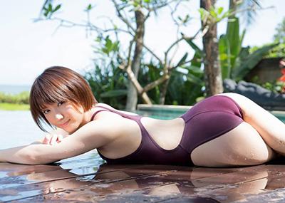 【競泳水着エロ画像】競泳水着と侮るなよ!?競泳水着ってこんなにエロいんだぜ!