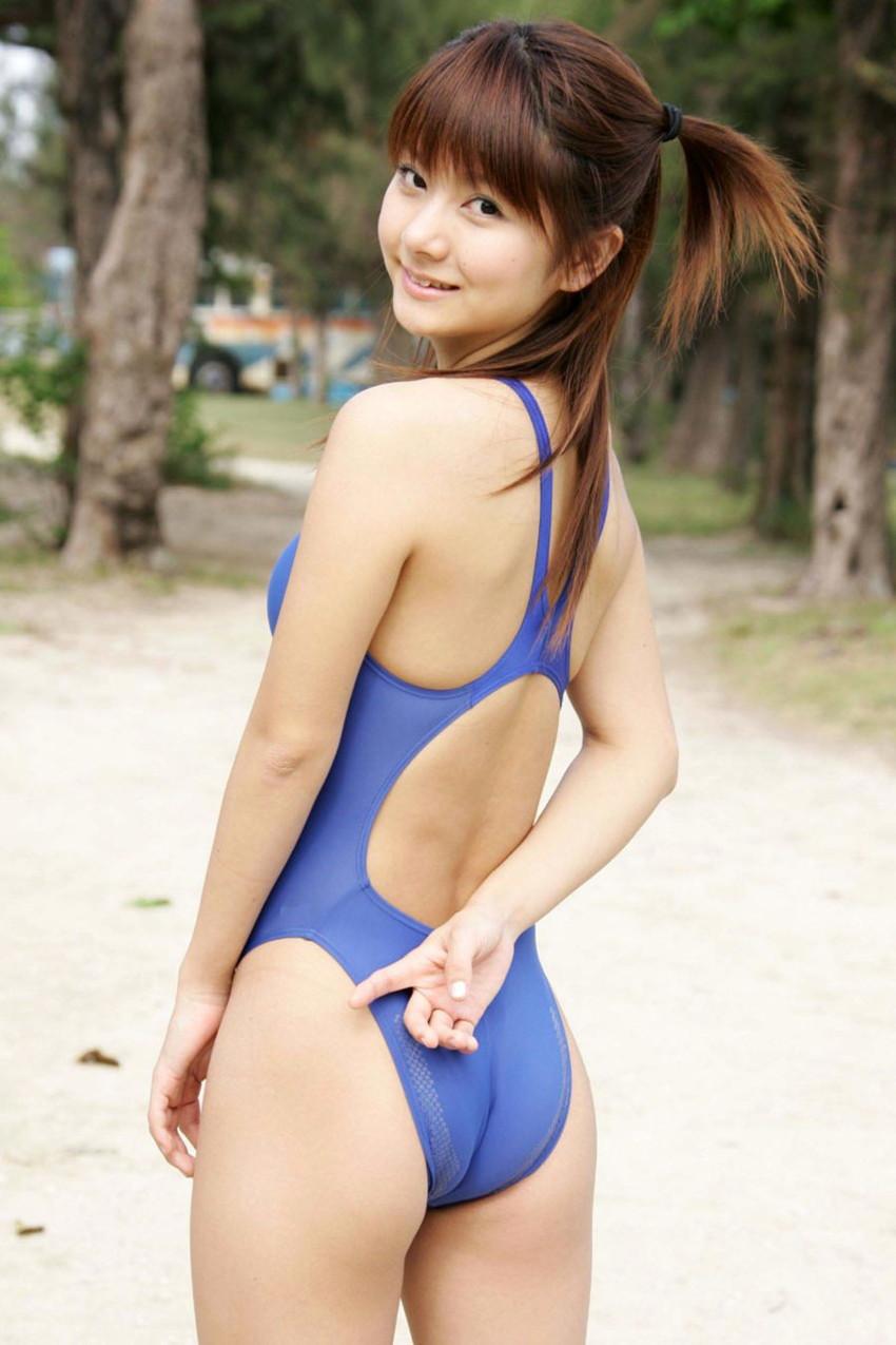 【競泳水着エロ画像】競泳水着と侮るなよ!?競泳水着ってこんなにエロいんだぜ! 31